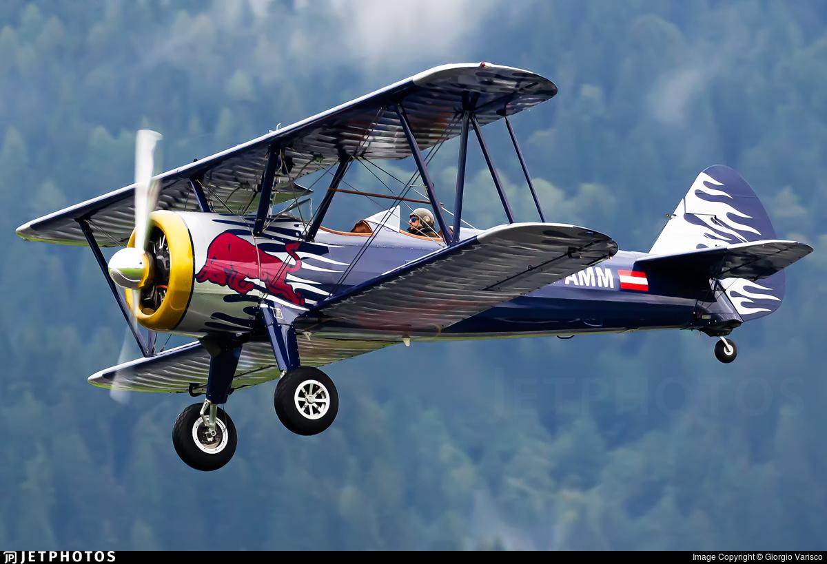 OE-AMM - Boeing E75 Stearman - The Flying Bulls