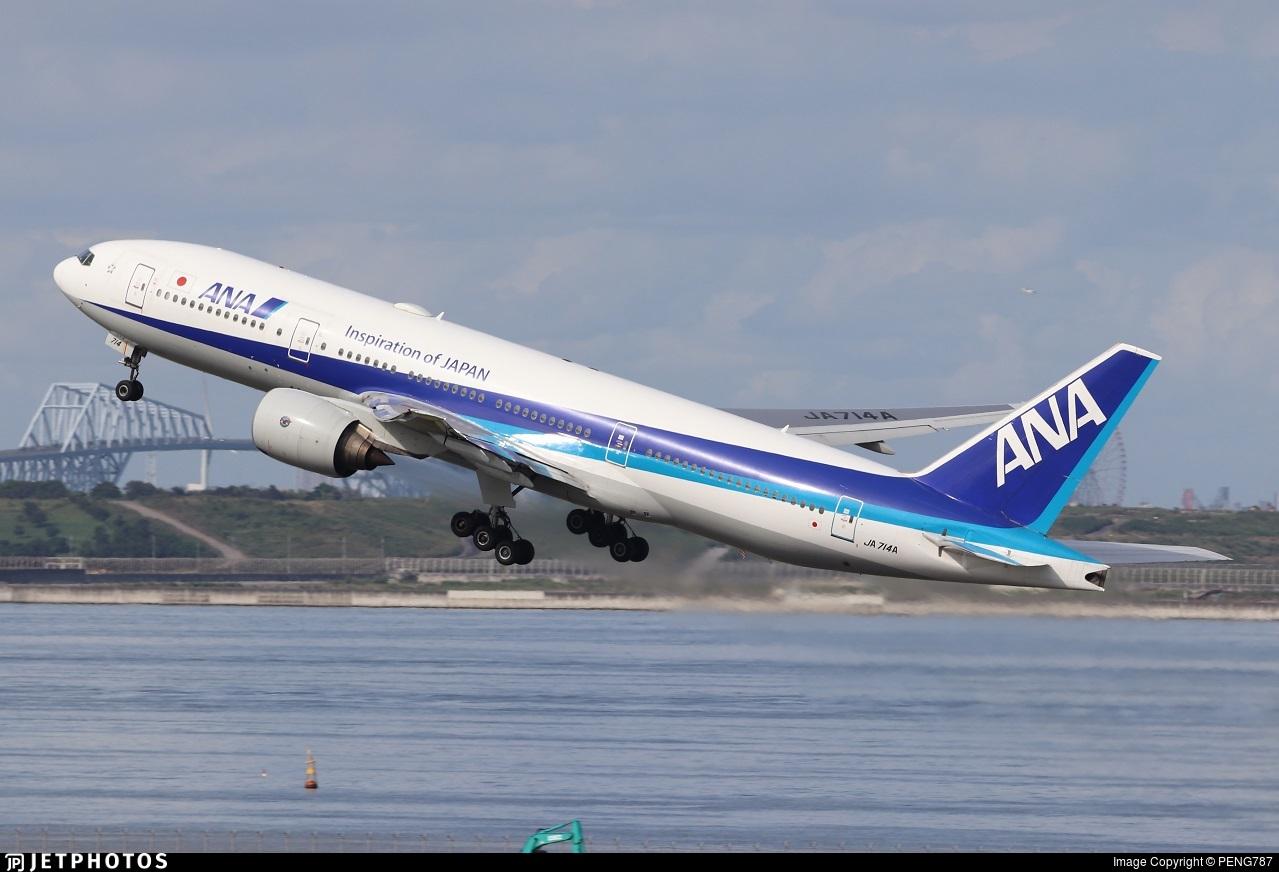 JA714A - Boeing 777-281 - All Nippon Airways (ANA)