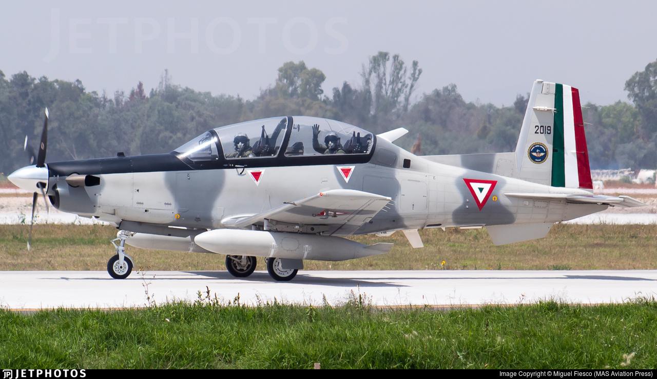 2019 - Raytheon T-6C Texan II - Mexico - Air Force