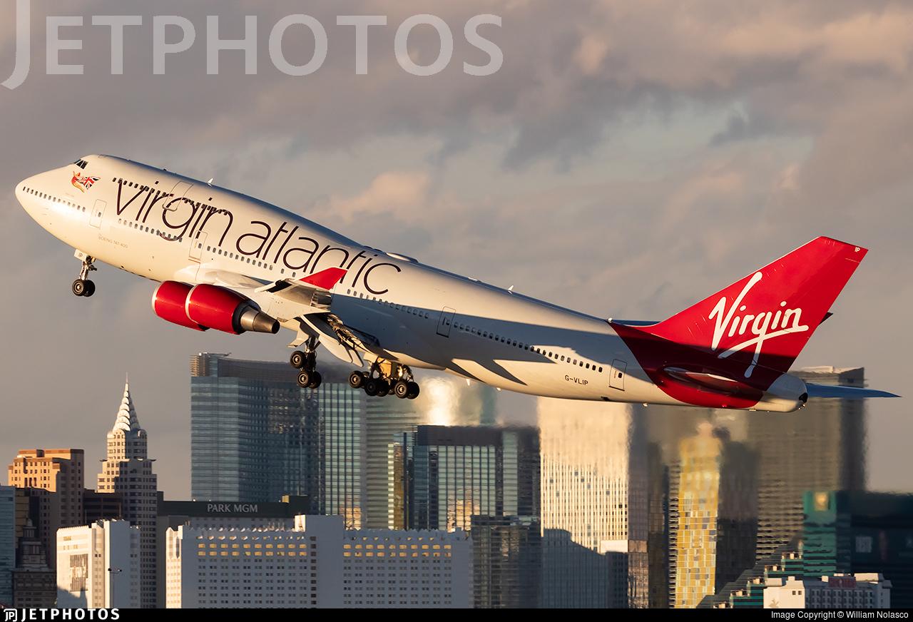 G-VLIP | Boeing 747-443 | Virgin Atlantic Airways | William Nolasco