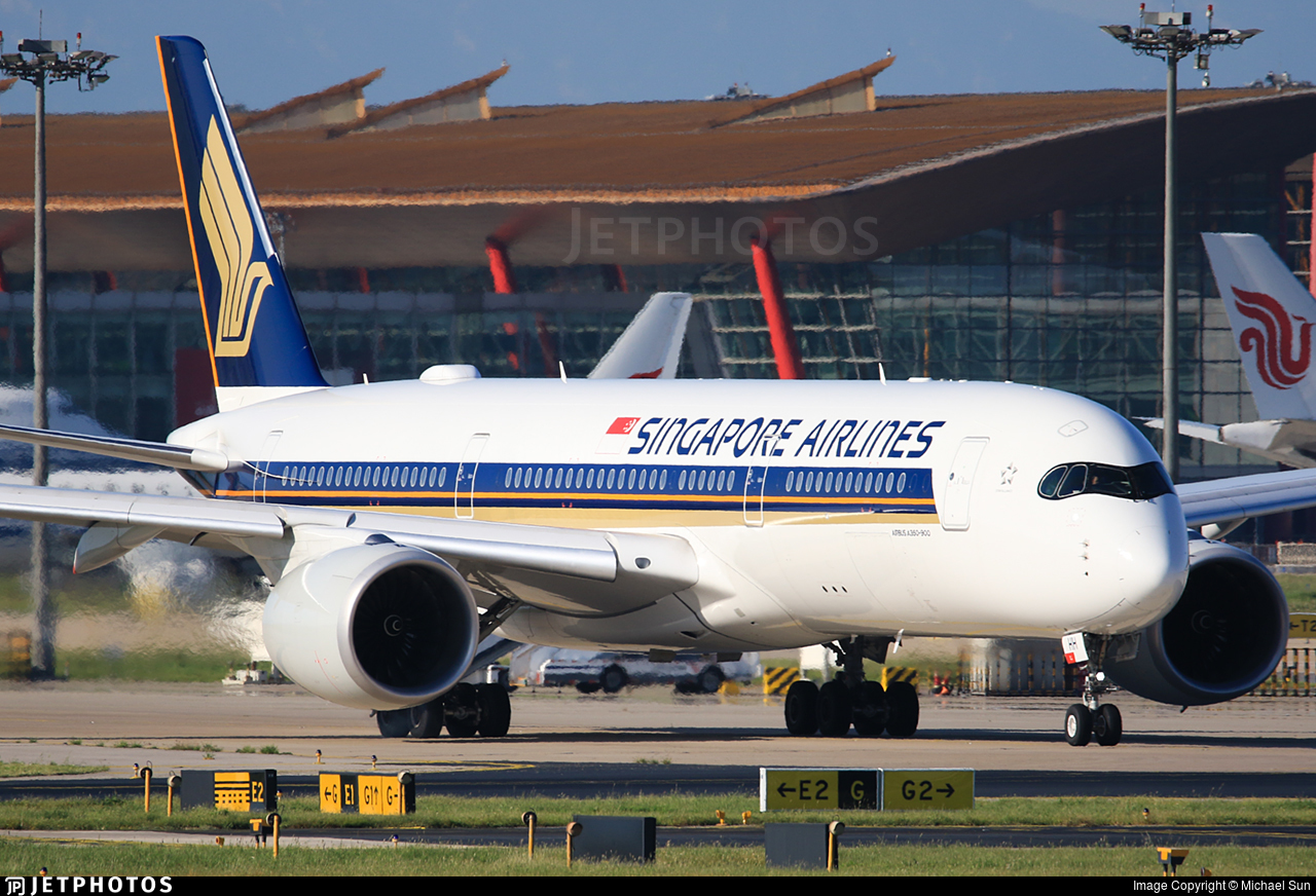 9V-SHH - Airbus A350-941 - Singapore Airlines