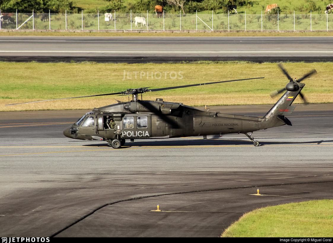 PNC-0609 - Sikorsky UH-60L Blackhawk - Colombia - Police