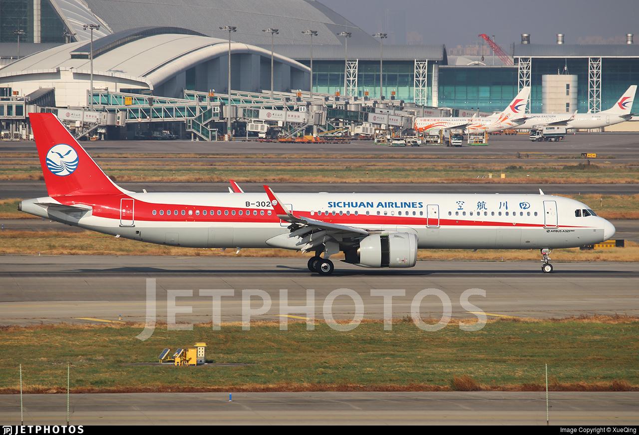 B-302Q - Airbus A321-271N - Sichuan Airlines
