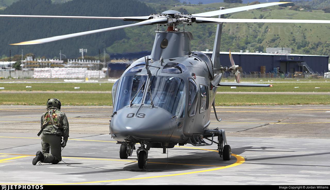 NZ3403 - Agusta A109LUH - New Zealand - Royal New Zealand Air Force (RNZAF)