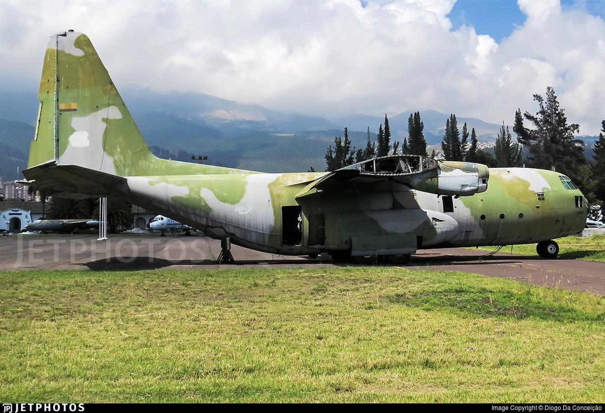 FAE896 - Lockheed C-130B Hercules - Ecuador - Air Force