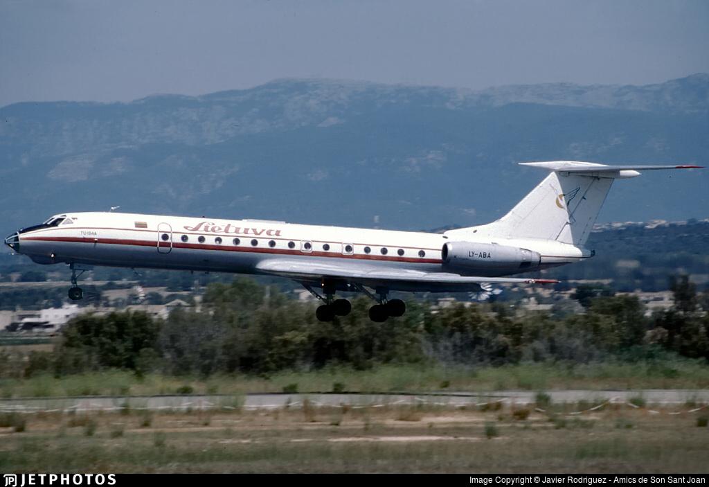 LY-ABA - Tupolev Tu-134A - Lietuva