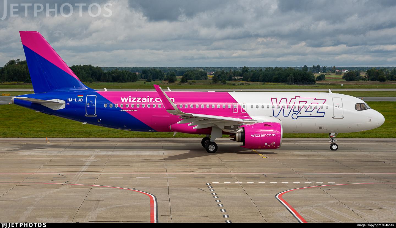 HA-LJD - Airbus A320-271N - Wizz Air