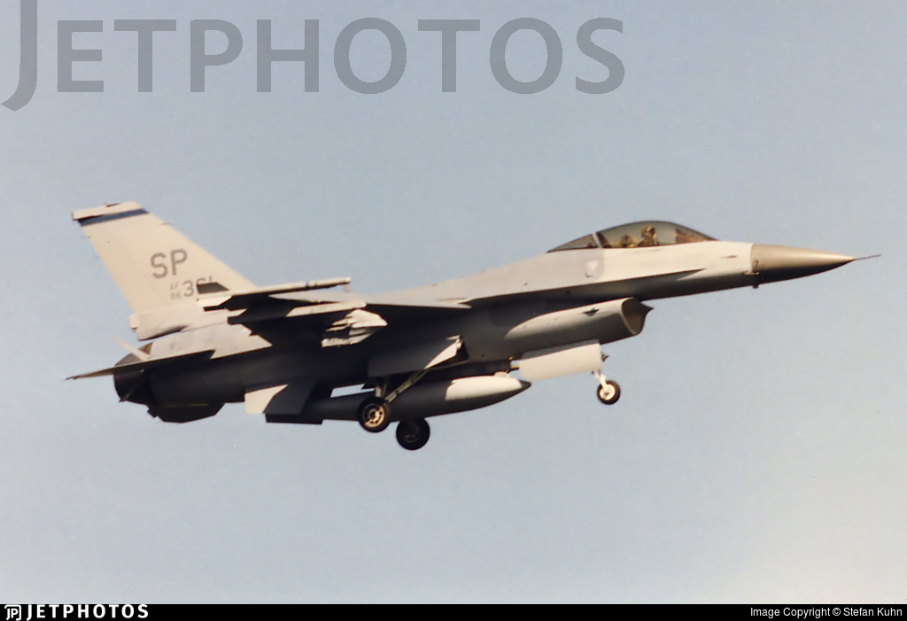 86-0361 - General Dynamics F-16C Fighting Falcon - United States - US Air Force (USAF)