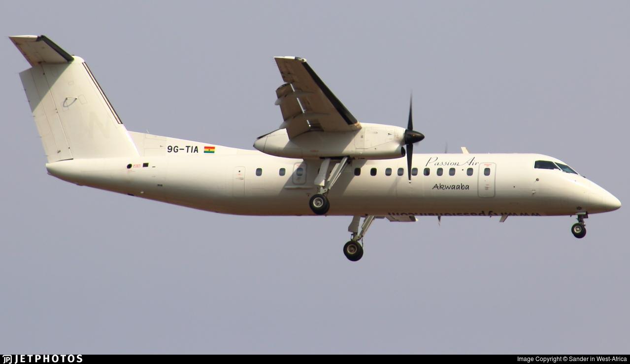 9G-TIA - Bombardier Dash 8-314 - PassionAir