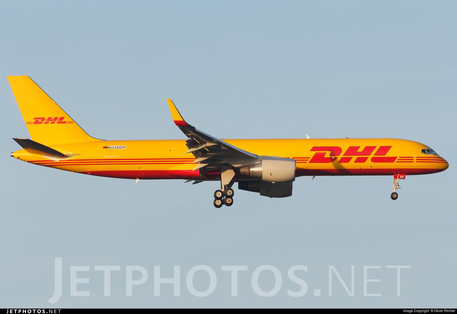 N346DH - Boeing 757-2Q8(SF) - DHL (ASTAR Air Cargo)