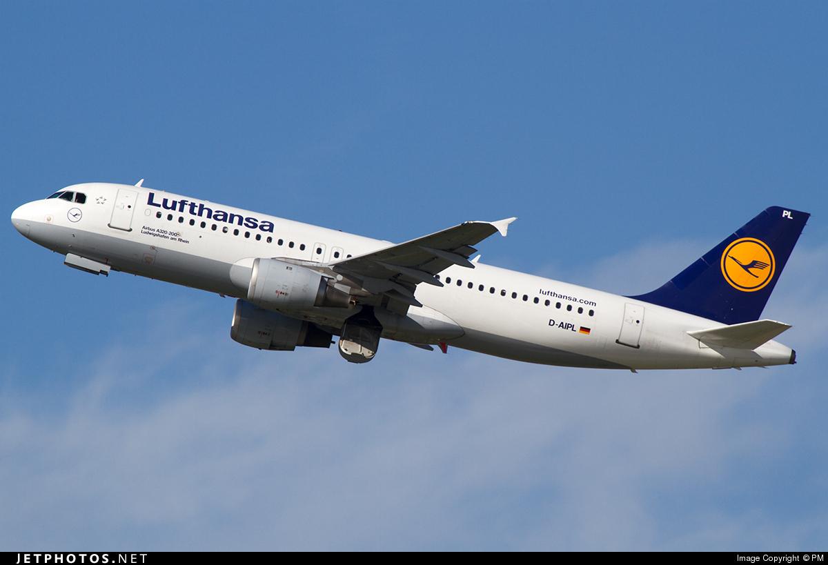 D-AIPL - Airbus A320-211 - Lufthansa