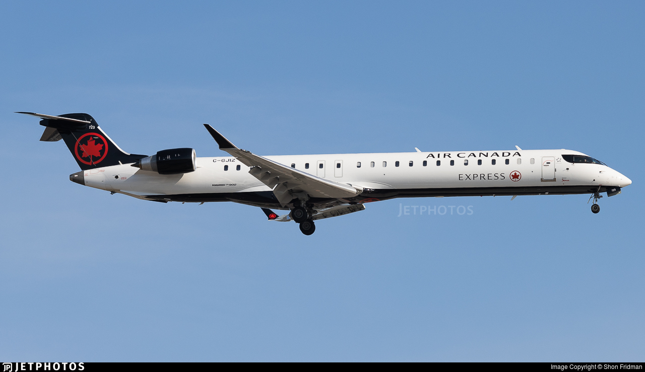 C-GJIZ - Bombardier CRJ-900LR - Air Canada Express (Jazz Aviation)