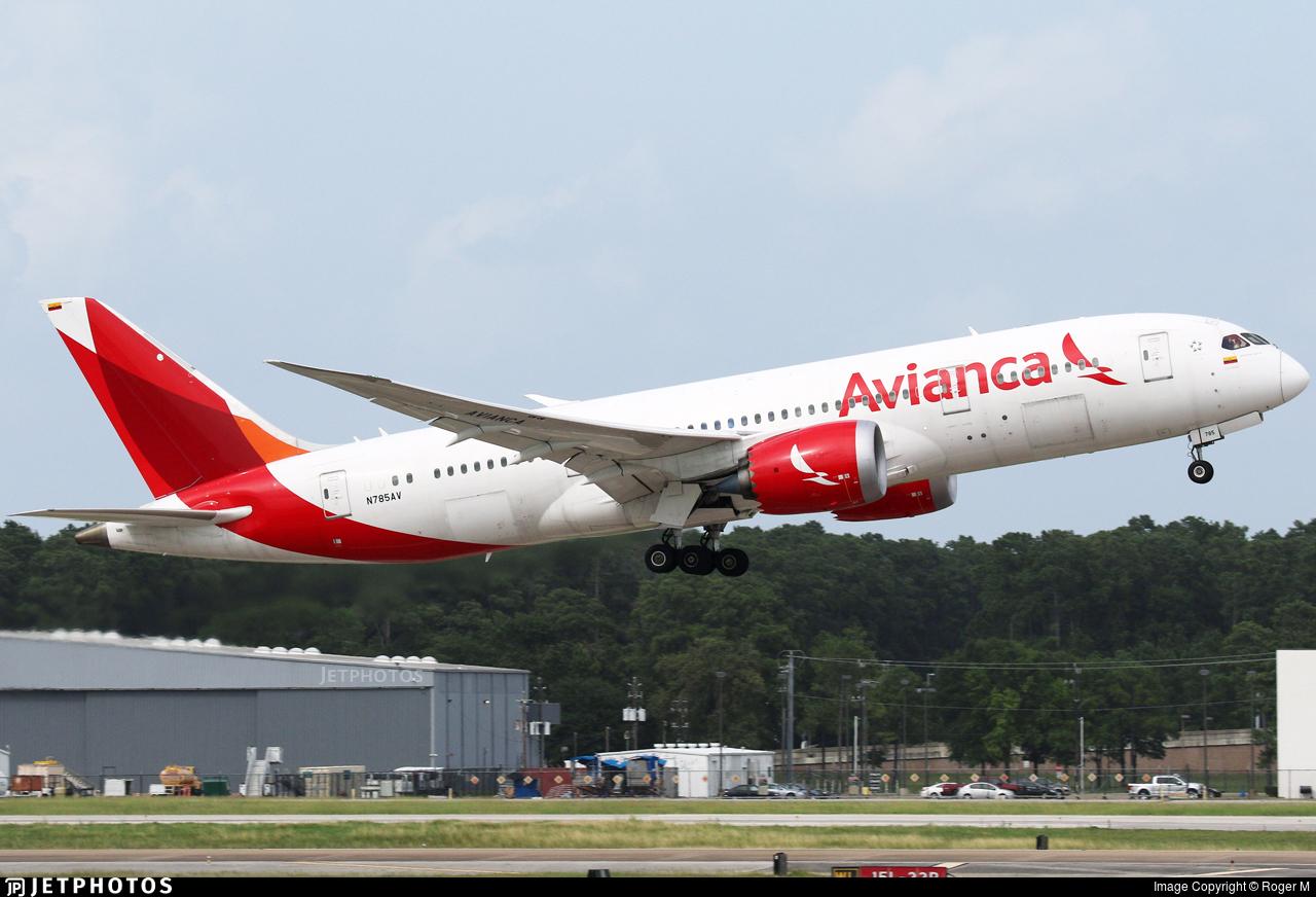 N785AV - Boeing 787-8 Dreamliner - Avianca