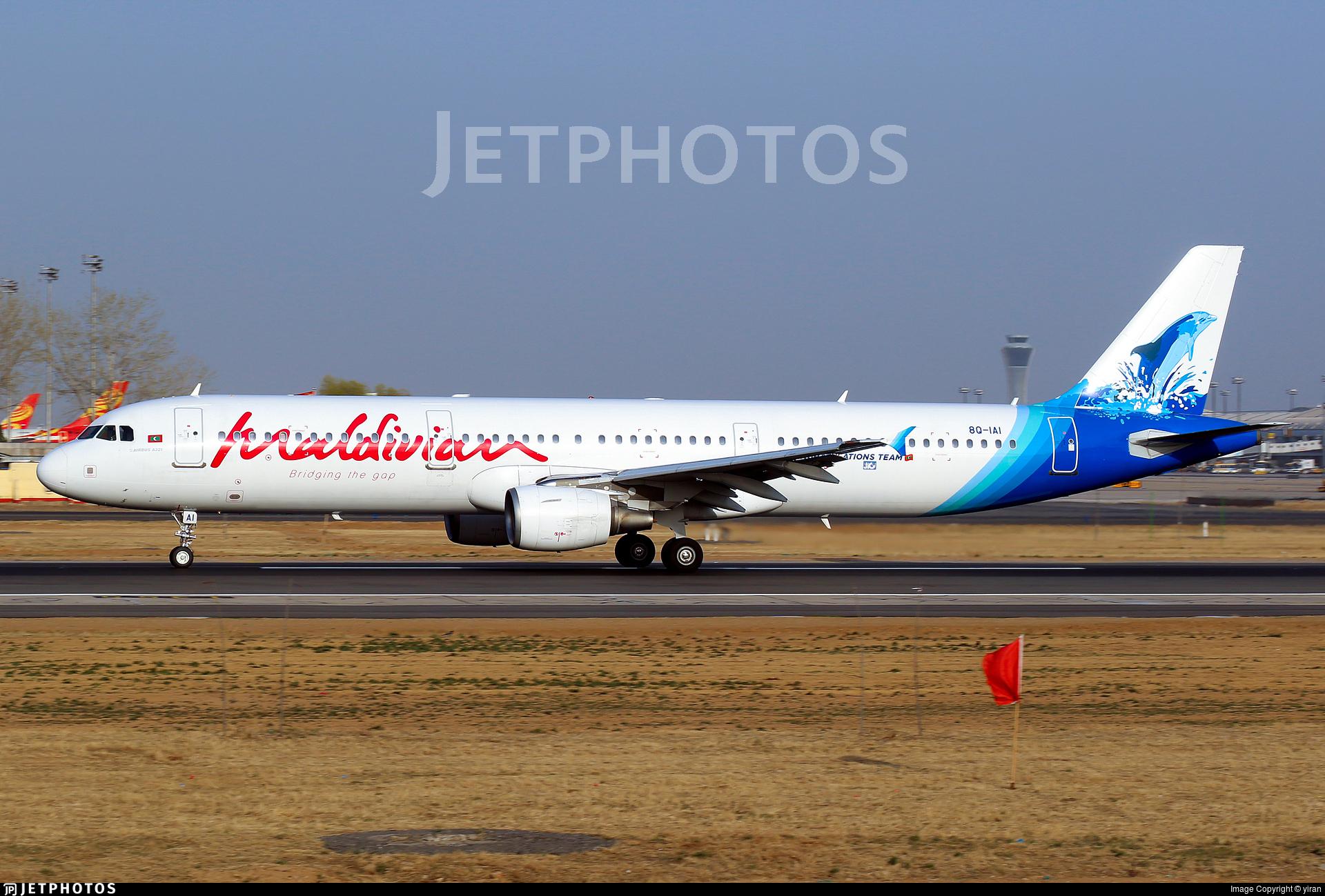 8Q-IAI - Airbus A321-211 - Maldivian