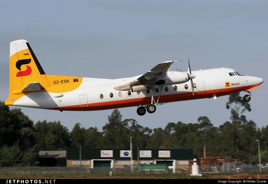 D2-ESN - Fokker F27-500F Friendship - Sonair