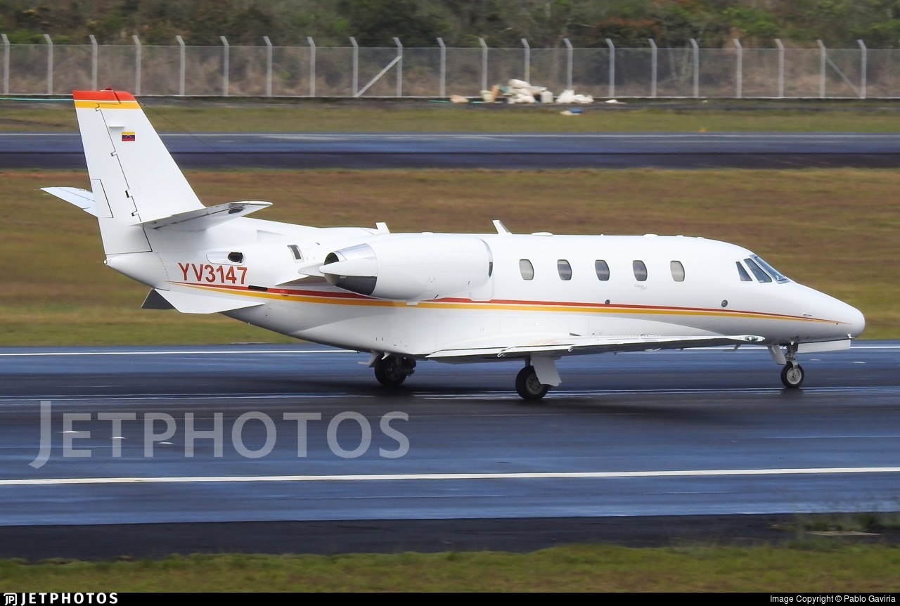 YV3147 - Cessna 560XL Citation Excel - Private