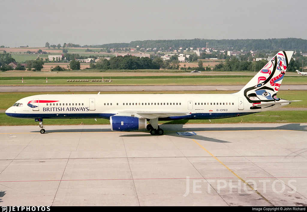 G-CPEO - Boeing 757-236 - British Airways