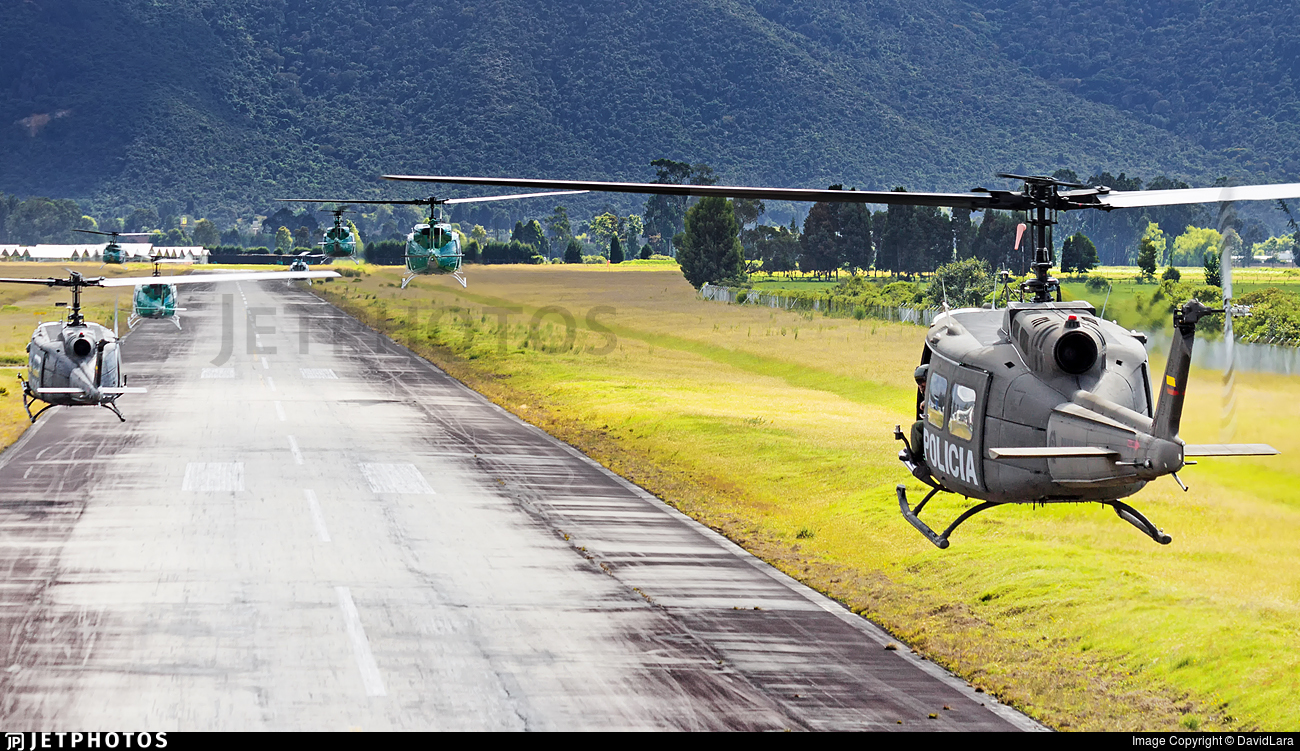 PNC-0721 - Bell UH-1H Huey II - Colombia - Police