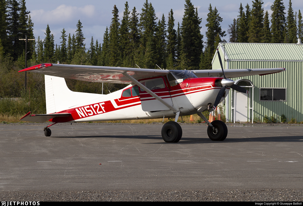 N1512F - Cessna 185D Skywagon - Private