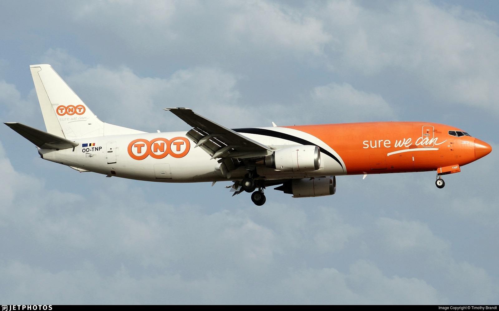 OO-TNP - Boeing 737-45D(SF) - TNT (ASL Airlines)