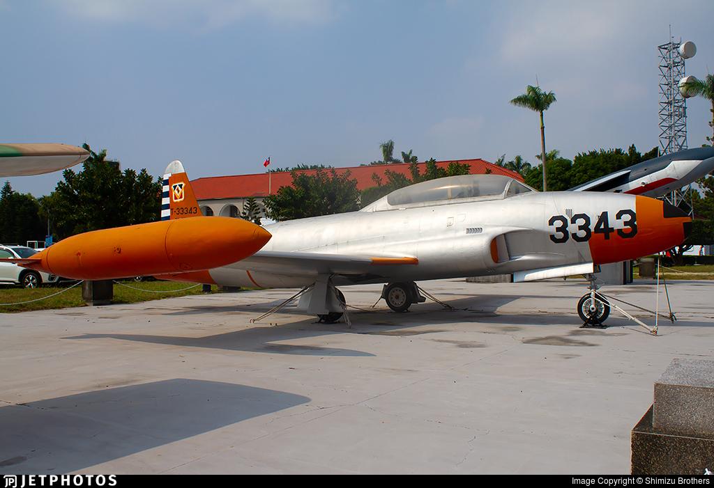 3343 - Lockheed T-33A Shooting Star - Taiwan - Air Force