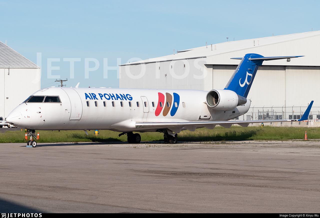 HL8298 | Bombardier CRJ-200ER | Air Pohang | Xinyu Wu