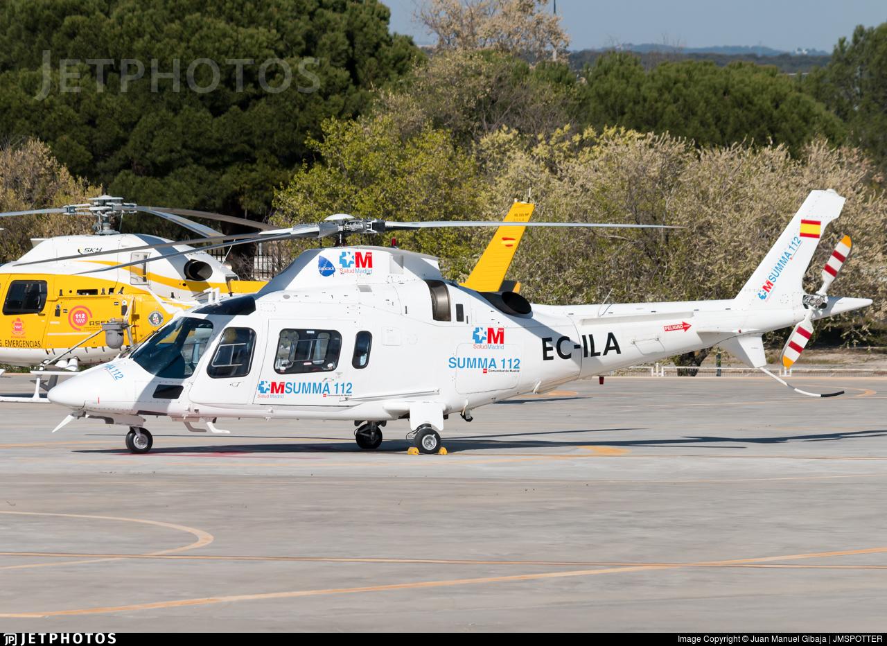EC-ILA - Agusta A109E Power - Inaer