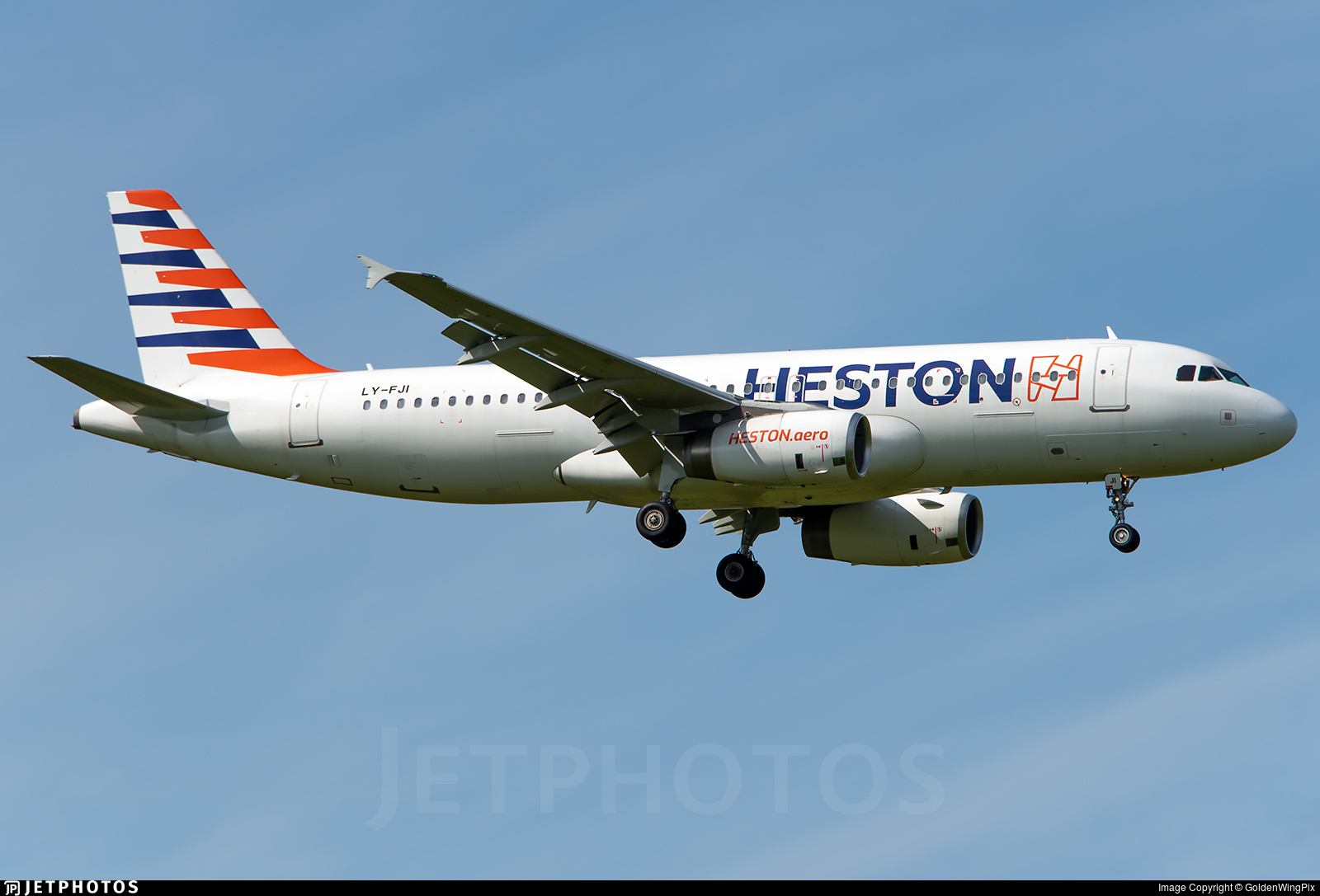 LY-FJI - Airbus A320-232 - Heston Airlines