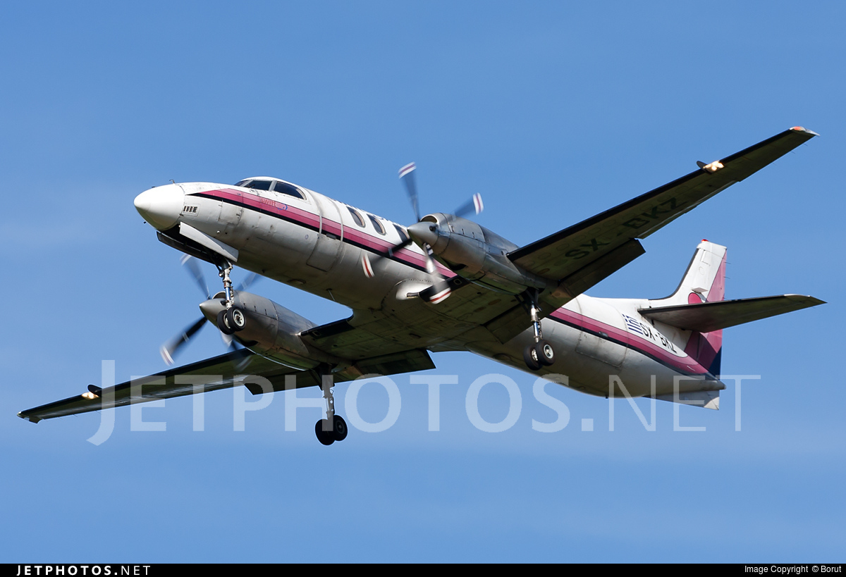 SX-BKZ - Fairchild SA227-AC Metro III - Swiftair Hellas