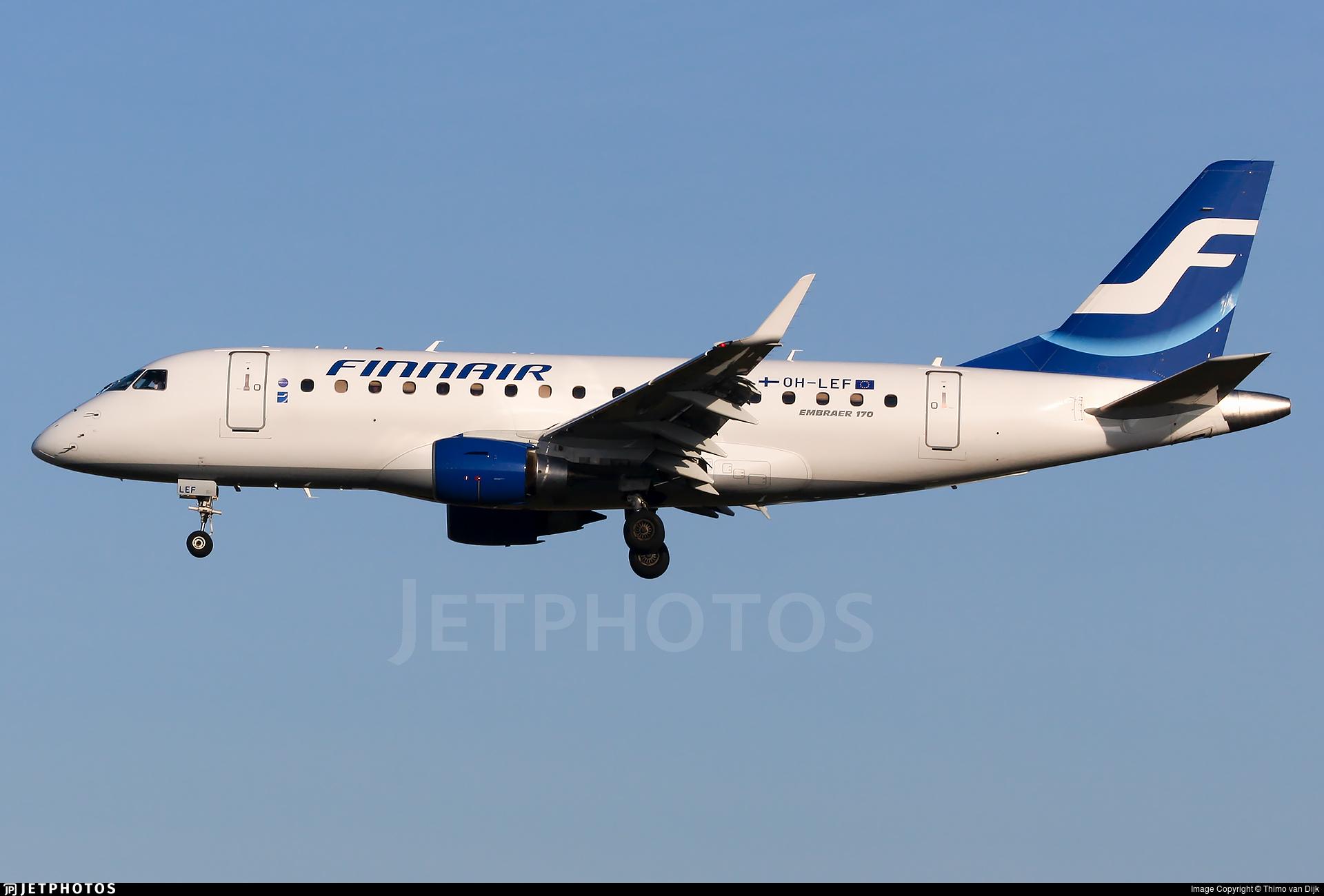 OH-LEF - Embraer 170-100LR - Finnair