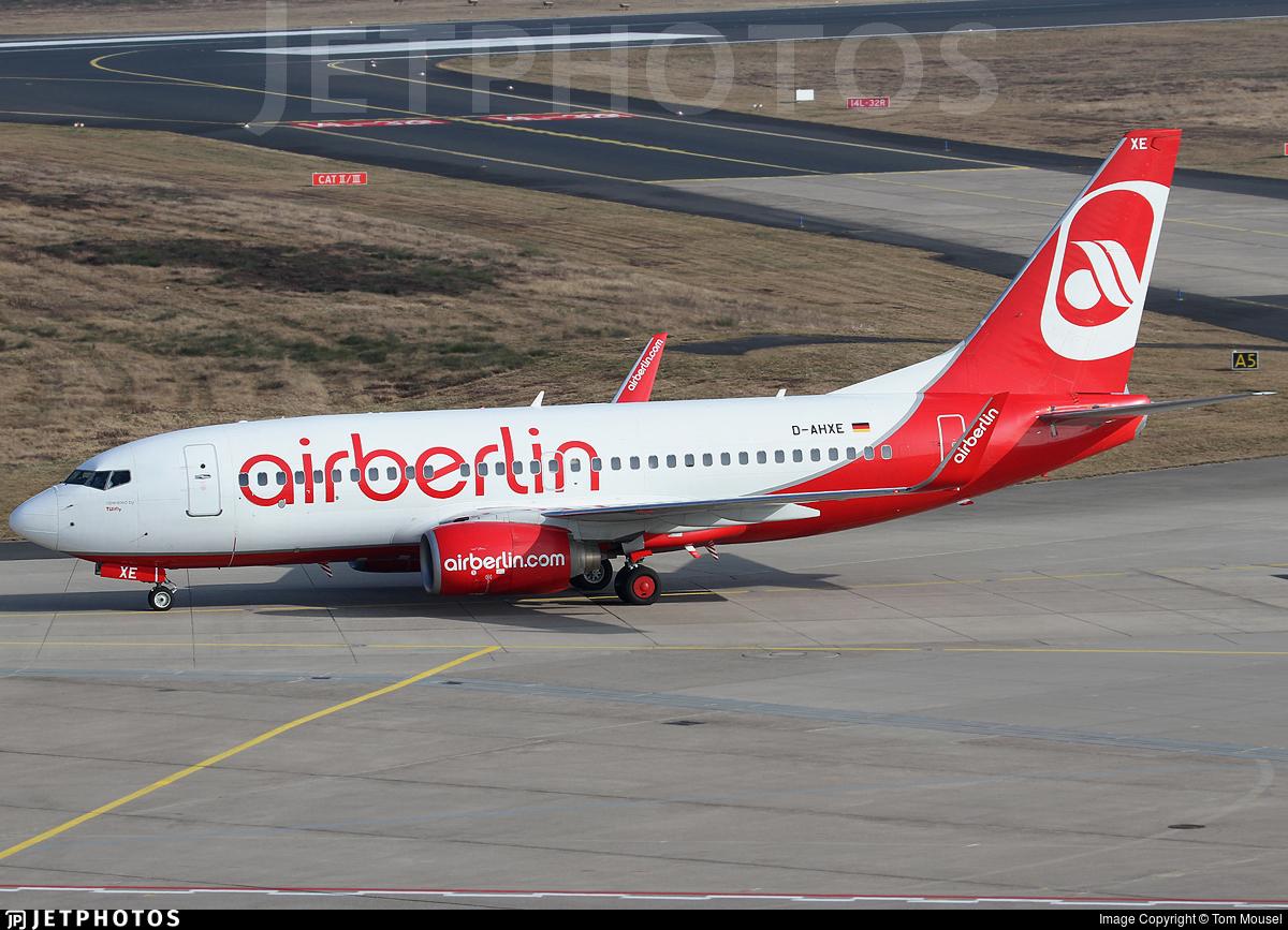 D-AHXE - Boeing 737-7K5 - Air Berlin