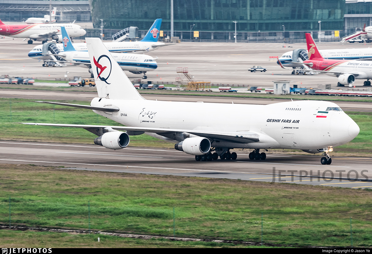EP-FAA - Boeing 747-281F(SCD) - Qeshm Fars Air