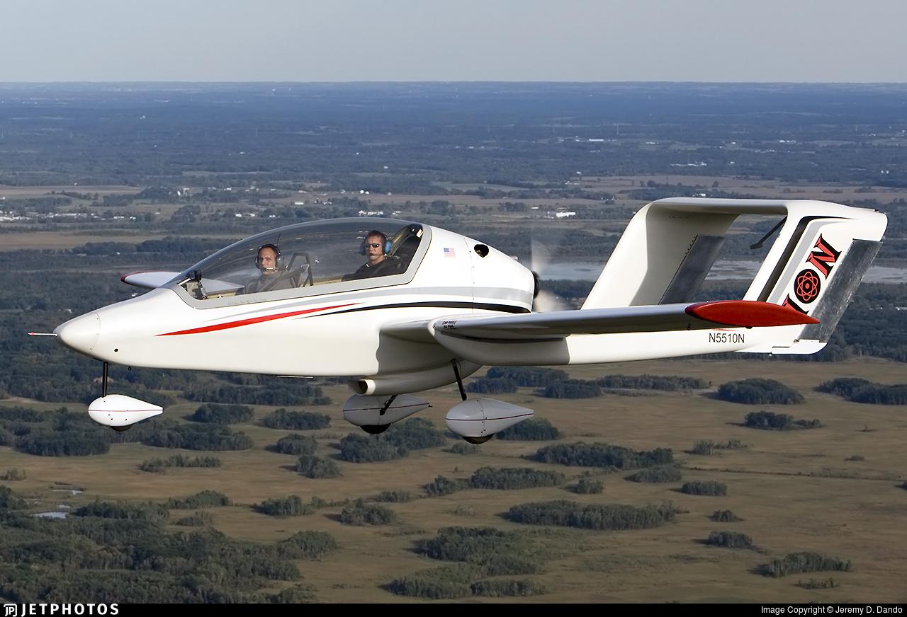 N5510N - Ion Aircraft 100 - Private