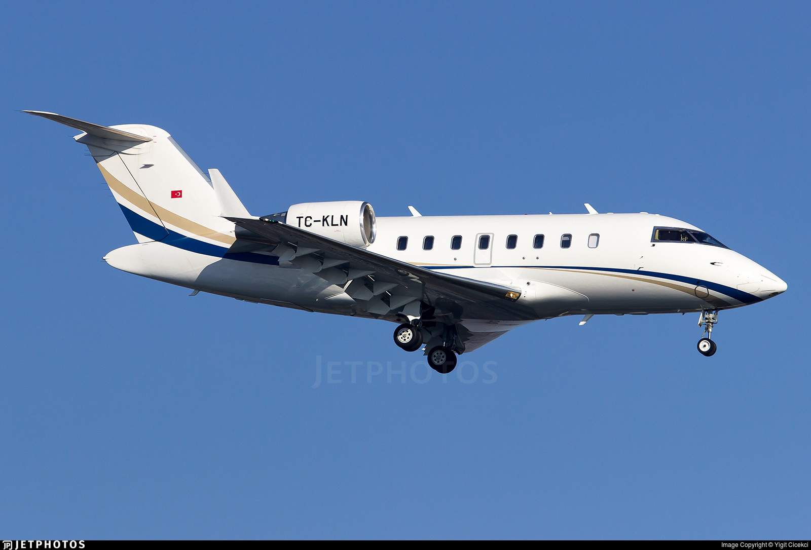 TC-KLN - Bombardier CL-600-2B16 Challenger 605 - Private