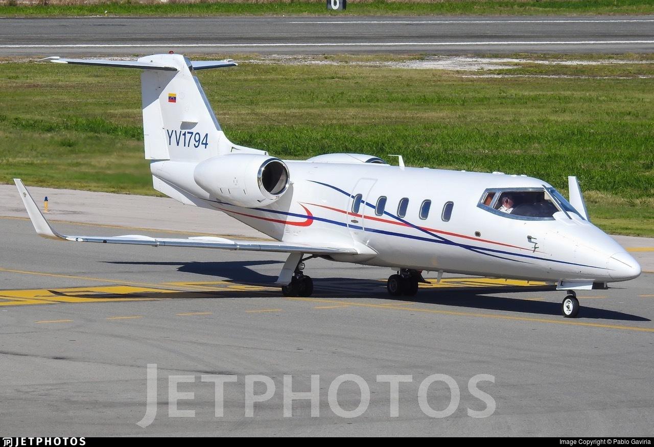 YV1794 - Bombardier Learjet 55 - Private