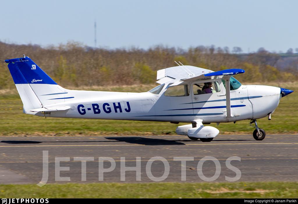 G-BGHJ - Reims-Cessna F172N Skyhawk II - Private