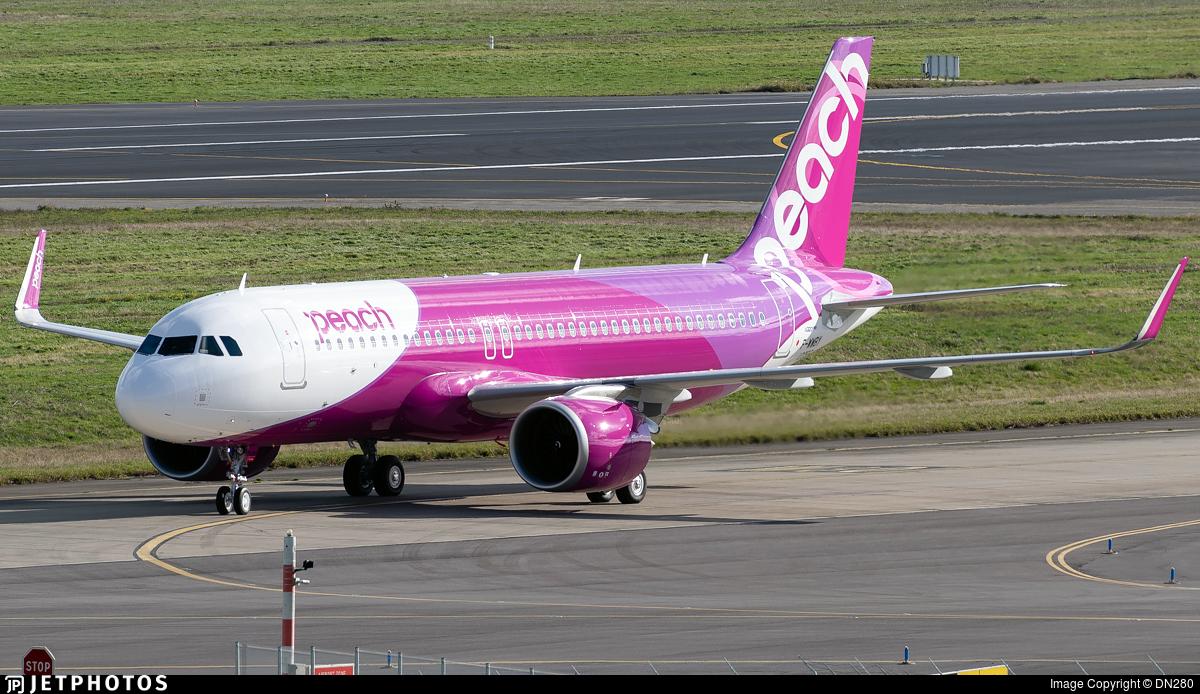 F-WWBY - Airbus A320-251N - Peach Aviation