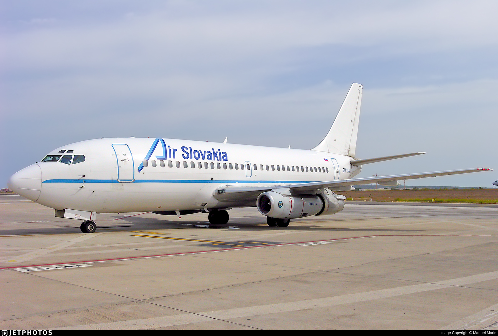 OM-RAN - Boeing 737-230(Adv) - Air Slovakia