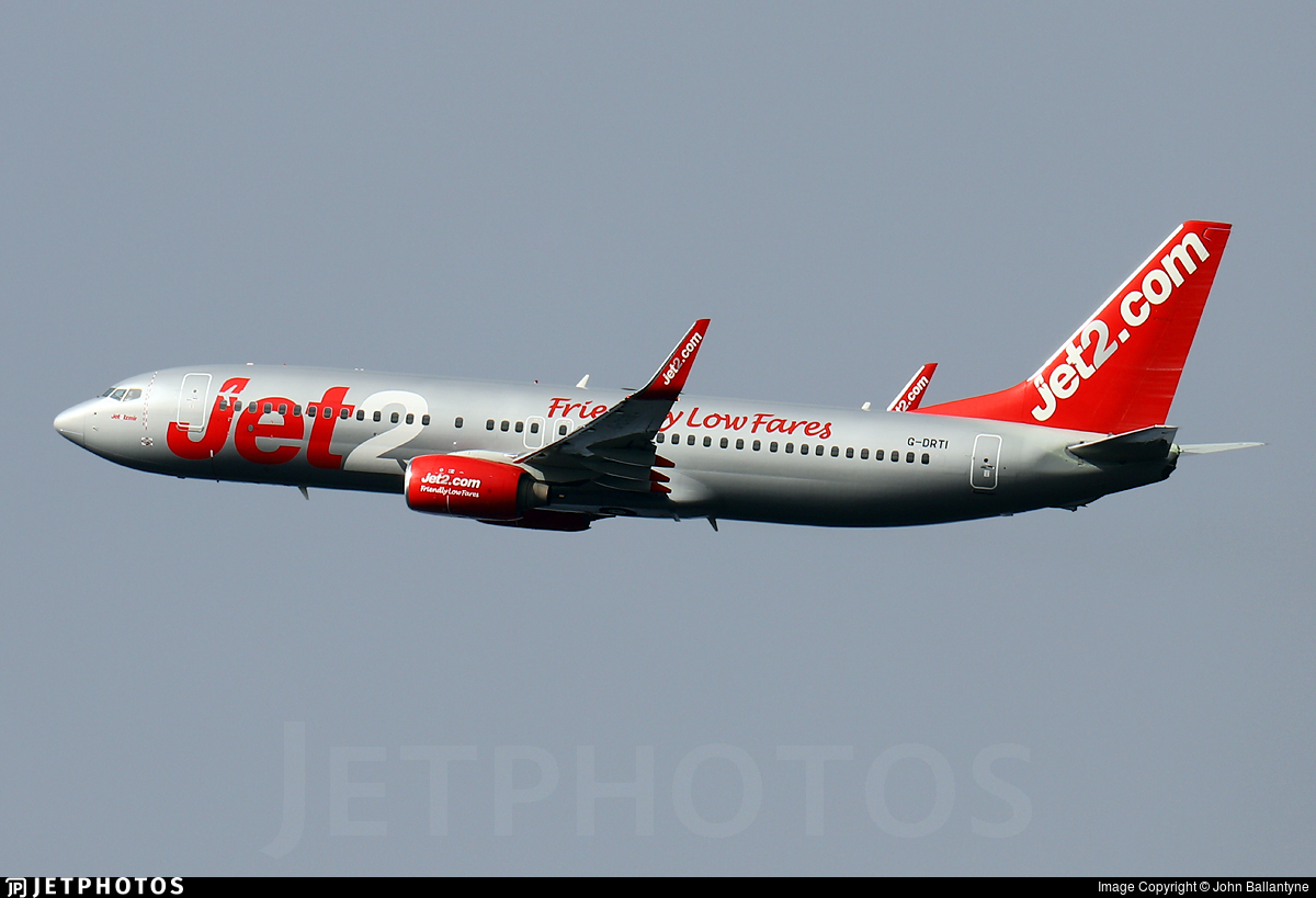 G-DRTI - Boeing 737-8FH - Jet2.com