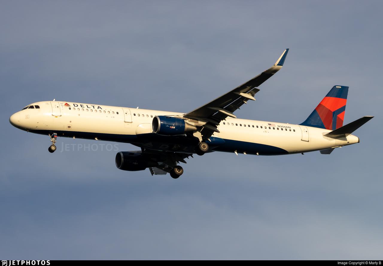 N306DN - Airbus A321-211 - Delta Air Lines