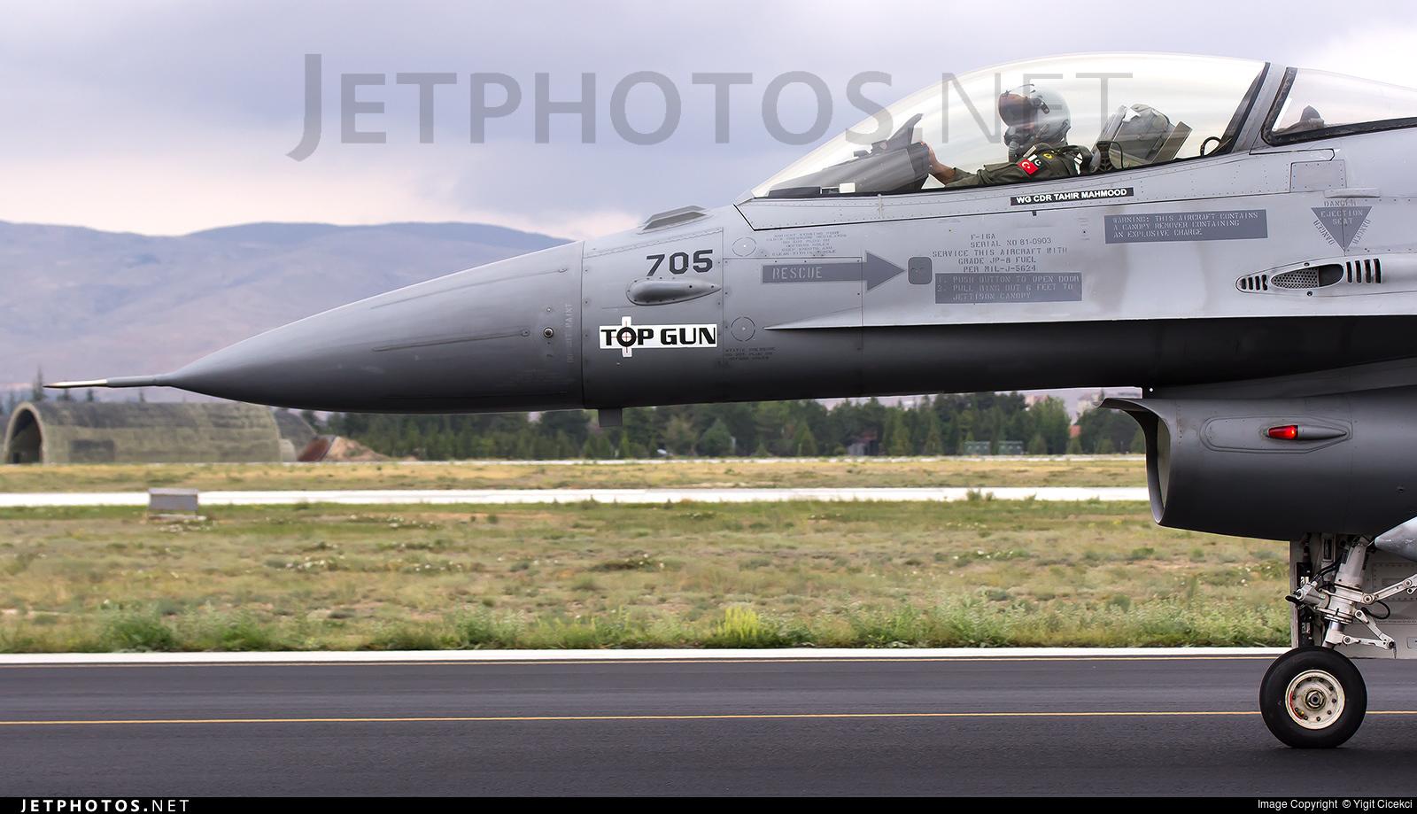 84705   General Dynamics F-16A Fighting Falcon   Pakistan