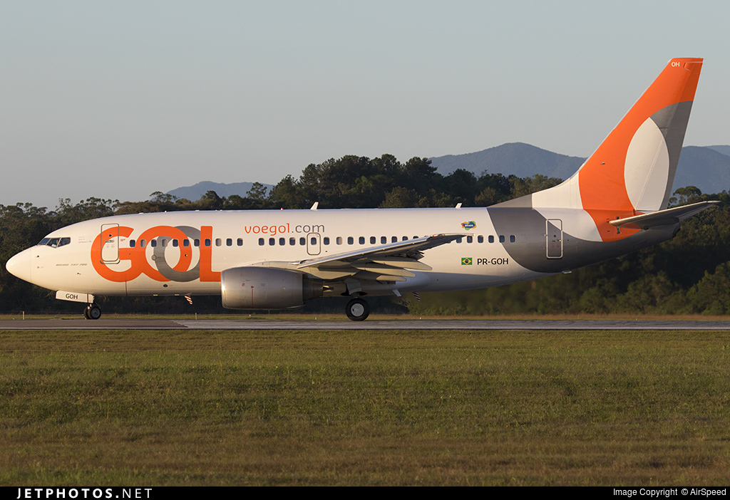PR-GOH - Boeing 737-76N - GOL Linhas Aéreas