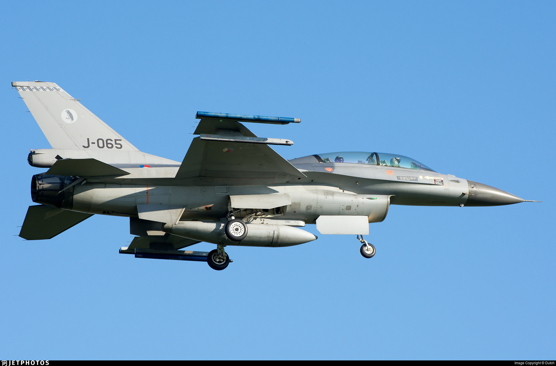 J-065 - General Dynamics F-16BM Fighting Falcon - Netherlands - Royal Air Force