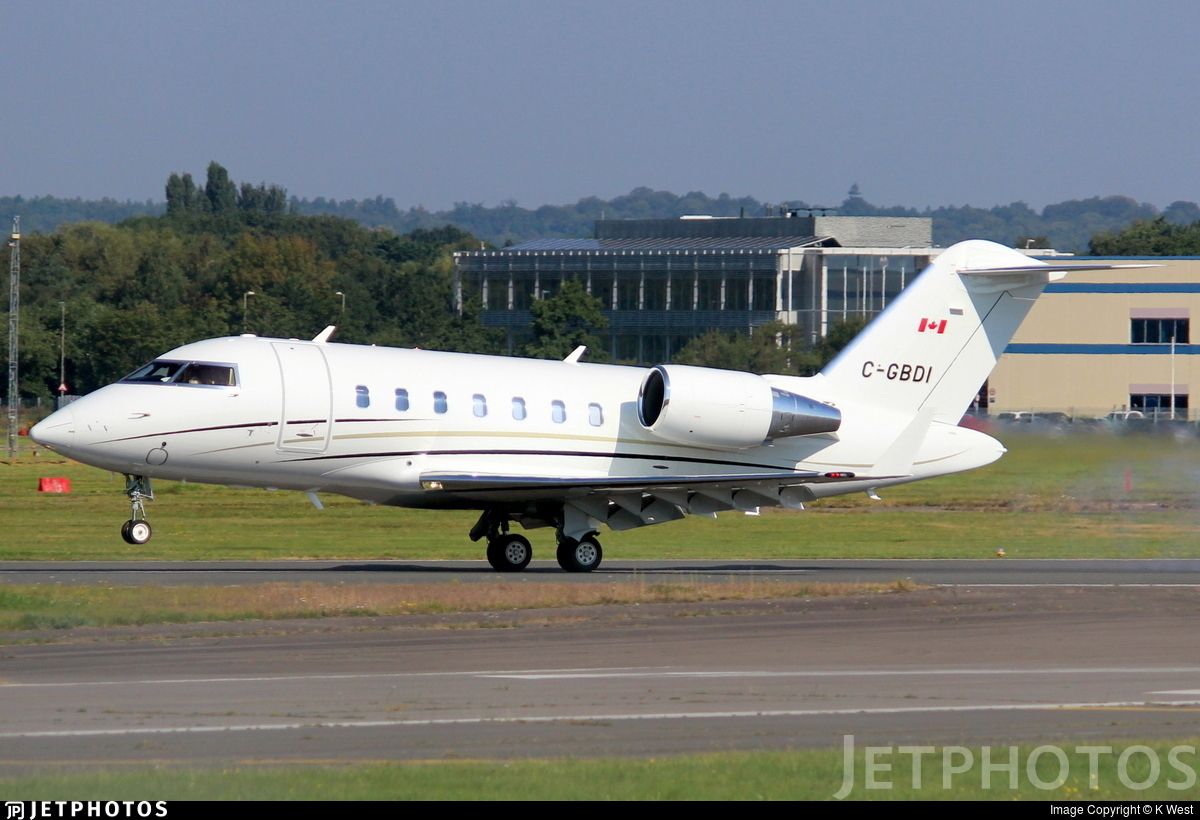 C-GBDI - Bombardier CL-600-2B16 Challenger 650 - Private