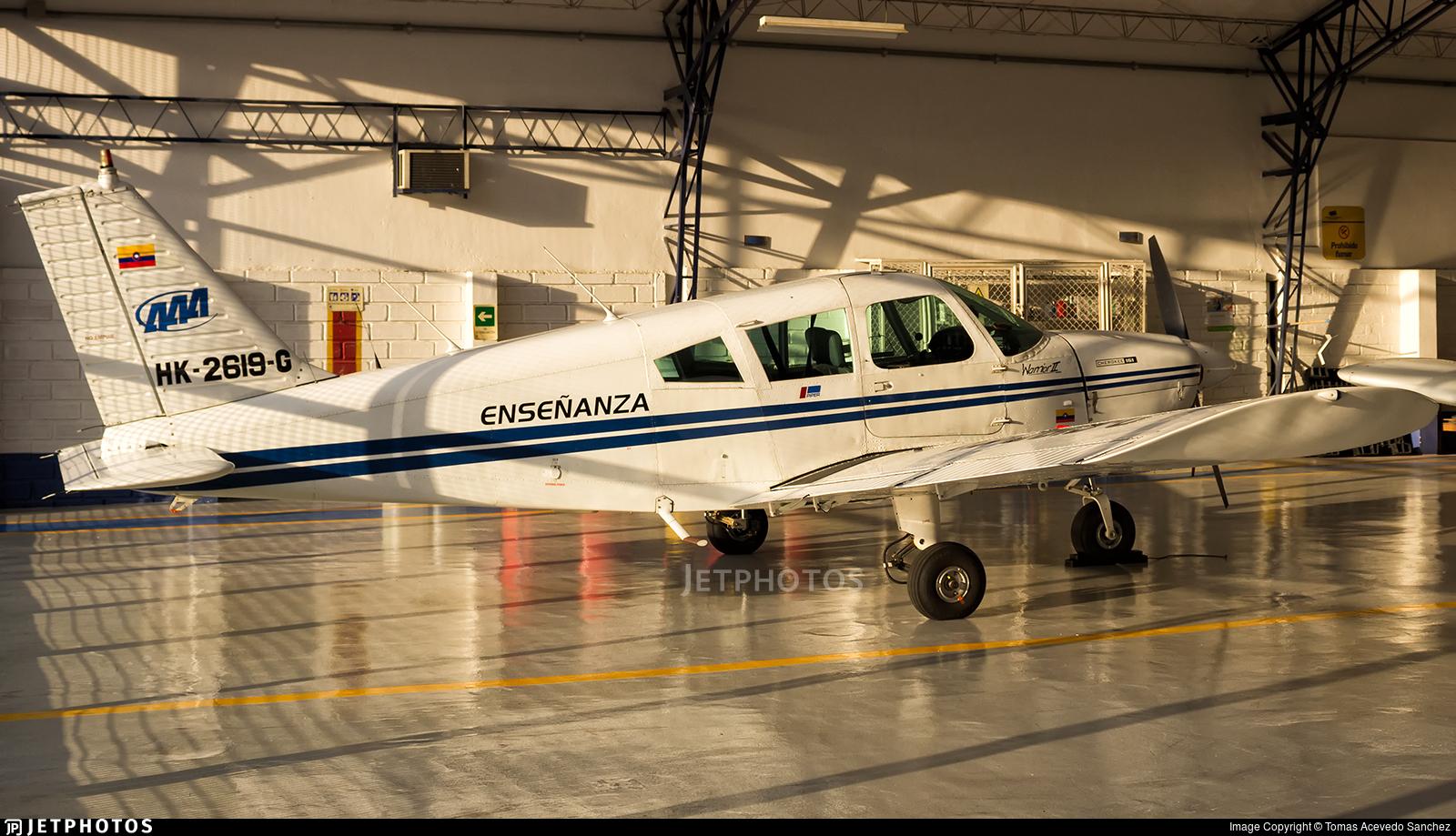 HK-2619-G - Piper PA-28-161 Warrior II - Academia Antioqueña de Aviación (AAA)