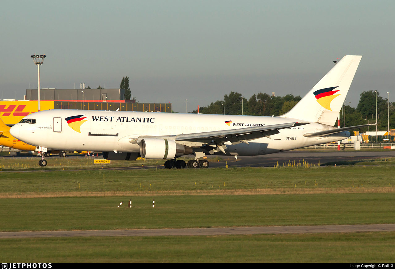SE-RLB - Boeing 767-232(BDSF) - West Atlantic Airlines