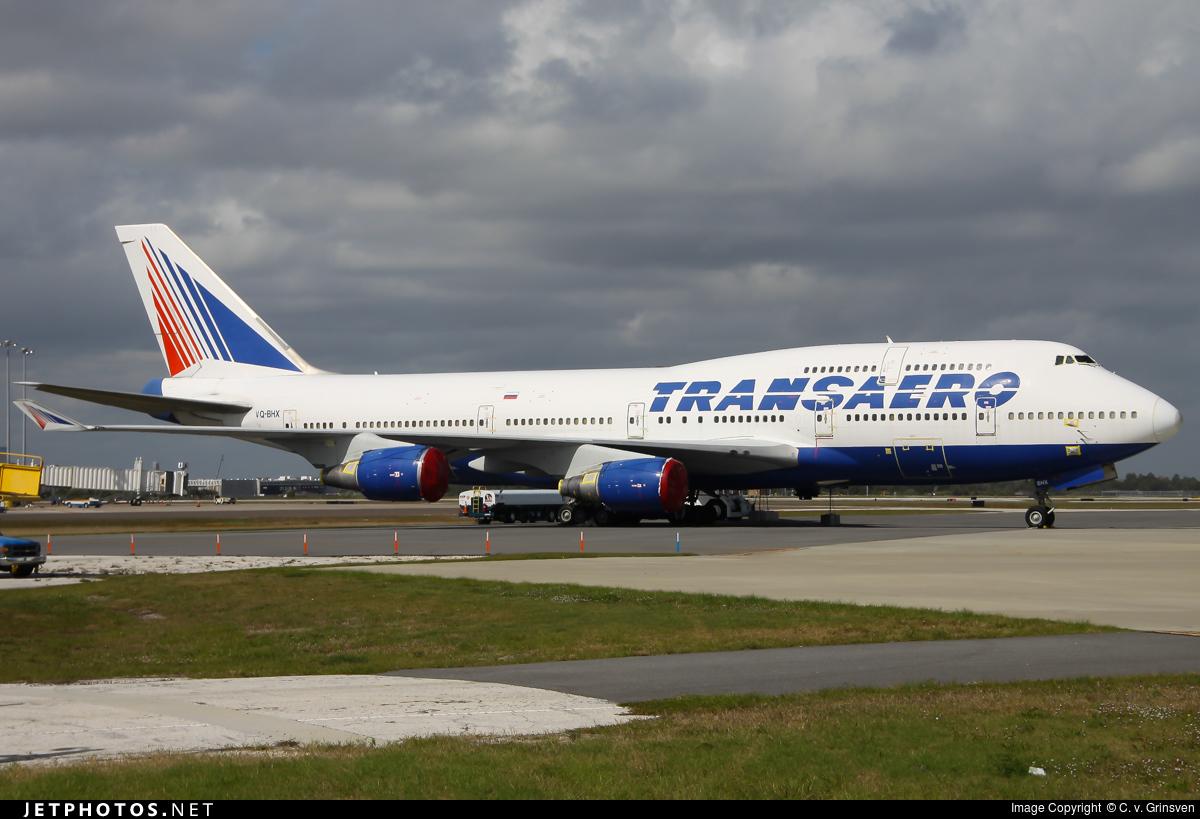 VQ-BHX - Boeing 747-4F6 - Transaero Airlines