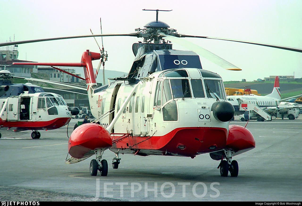 G-BEOO - Sikorsky S-61N - British Airways
