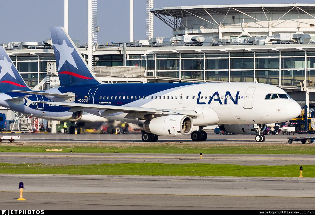 HC-CQU - Airbus A319-132 - LAN Ecuador