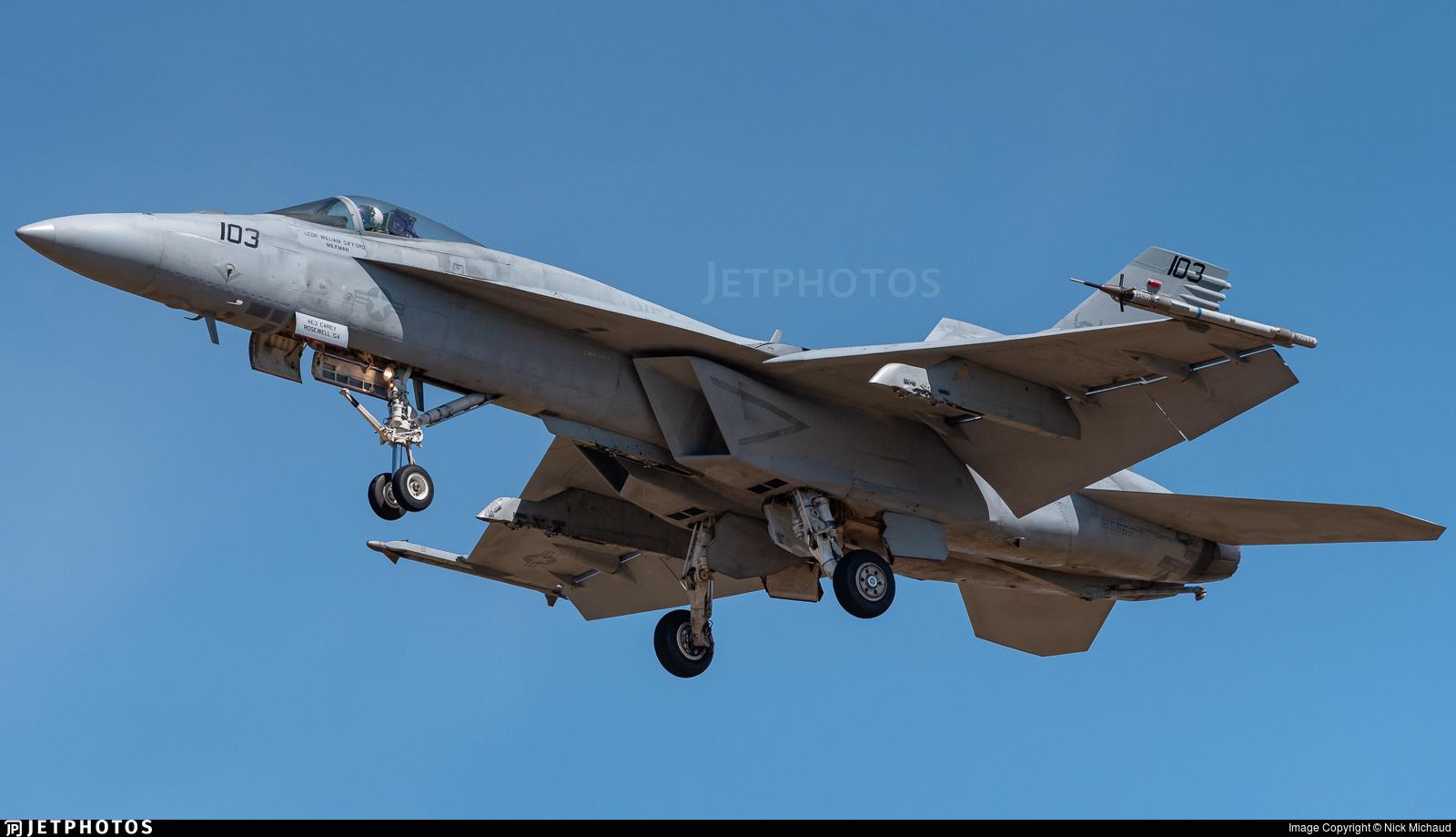 165866 - Boeing F/A-18E Super Hornet - United States - US Navy (USN)